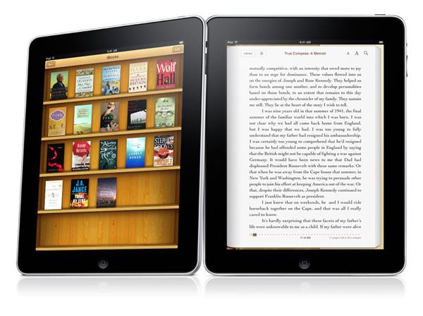Knjige u stilu na iPadu