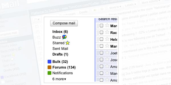 Nove opcije olakšat će sortiranje mailova