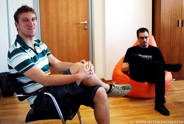 Osnivači Nordeusa osnovali su tvrtku 2009. (Snimila Marina Filipović Marinshe)