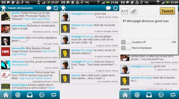 Twitter aplikacije za Android koje morate isprobati ...