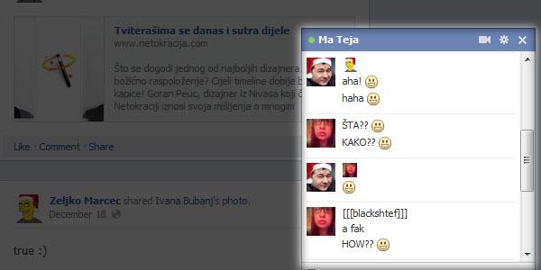 """Facebook Chat nema dovoljno """"smajlića""""? Ubacite profilnu sliku"""