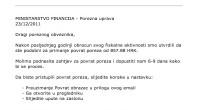Oprez! Lažnim emailom Porezne uprave o povratu poreza žele vam ukrasti podatke o kreditnoj kartici