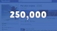 """Put oko svijeta na Facebooku """"lajkalo"""" 250,000 ljudi: mogu li stvoriti mrežu turističkih fan stranica?"""