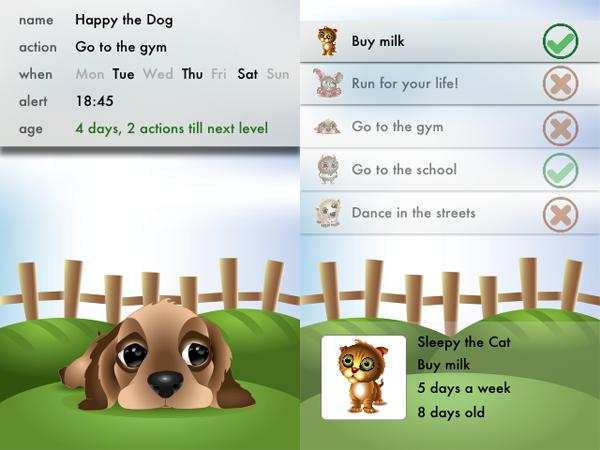 Ekskluzivni screenshotovi nove aplikacije Habbits
