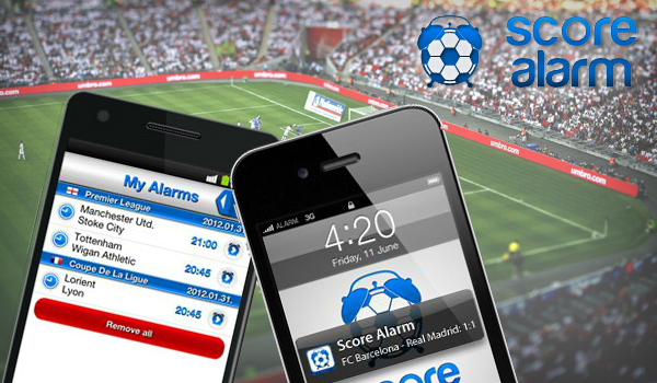 Score Alarm će vam olakšati klađenje.