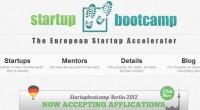 Startupbootcamp stigao u Berlin: Hoćete li prijaviti svoj internetski projekt?
