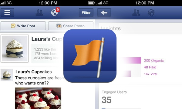 Facebook Pages Manager za iPhone