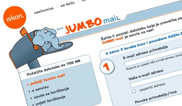 jumbo mail