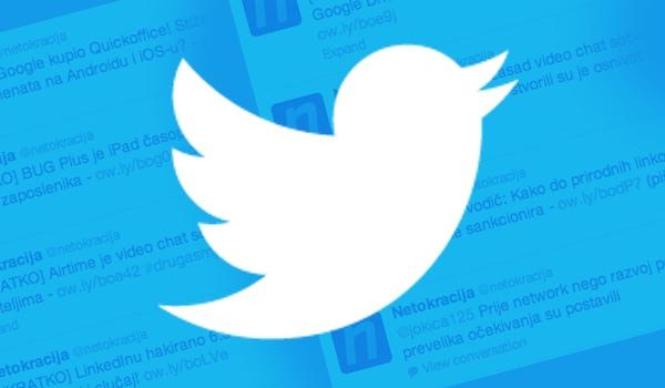 Twitterovo oglašavanje uskoro za cijeli svijet pa i regiju.