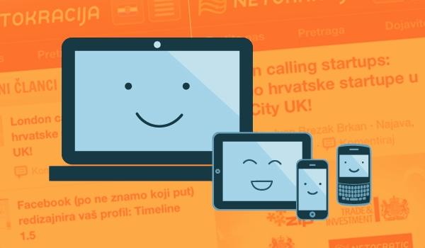 Responzivne web stranice za novu generaciju uređaja.