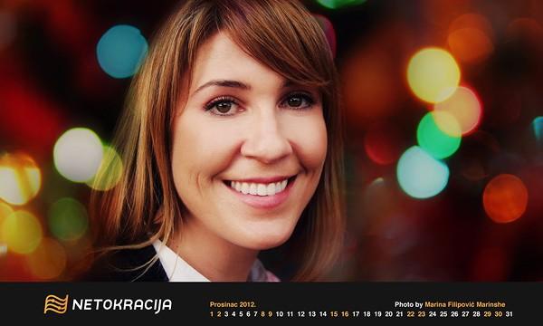 Geekete kalendar za prosinac 2012. donosi vam Sarah Lane