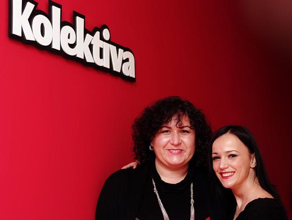 Marina Đukanović, direktorica Kolektive Hrvatska i Martina Usmiani, suosnivačica Kolektive (Snimila Marina Filipović Marinshe)