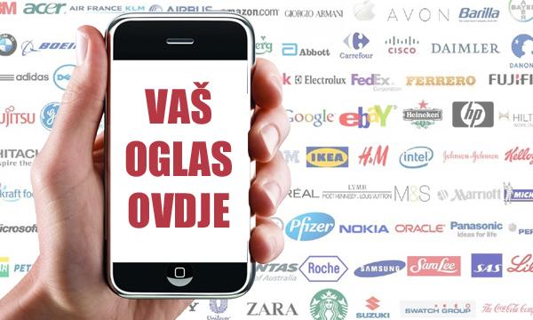 Mobilno oglašavanje je u porastu, ali čini tek mali postotak sveukupne potrošnje