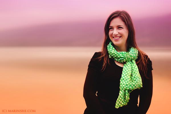 Ana Eterović snimljena na Bohinjskom jezeru by Marinshe