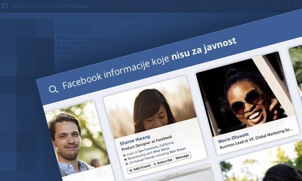 Facebook Graph Search problemi...