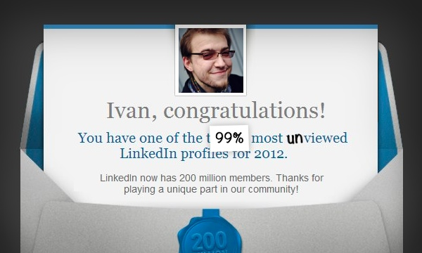 LinkedInovih 99% - ma niste među njima!