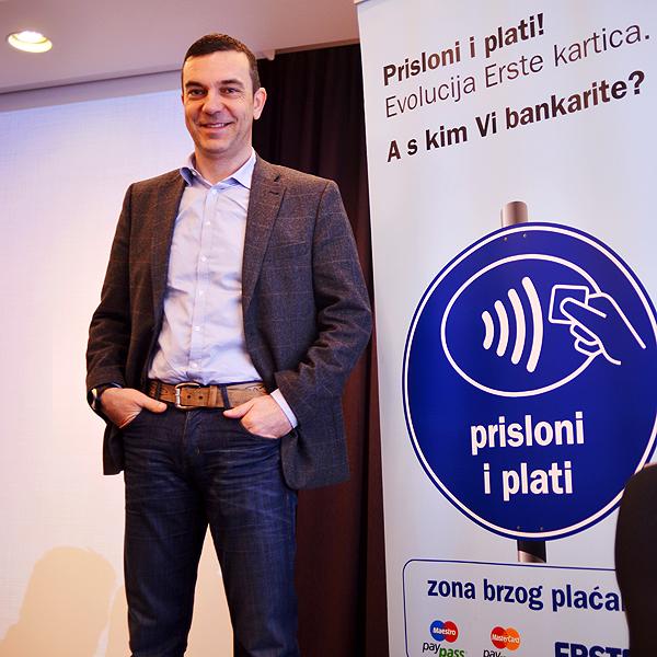 Igor Strejček, Erste banka Foto: Marina Filipović Marinshe