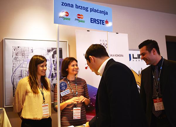 Erste Bank, organizator hakatona i partner konferencije ( Snimila: Marina Filipović Marinshe )