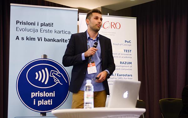 Branimir Karačić, Kolektiva, objašnjava prednosti affiliate marketinga (snimila: Marina Filipović Marinshe)