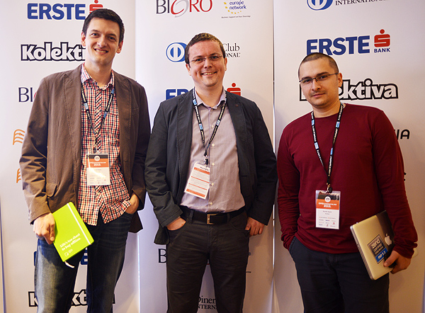 Inchoo trio: Aron Stanić, Tomislav Bilić i Branko Ajzele (Snimila: Marina Filipović Marinshe)