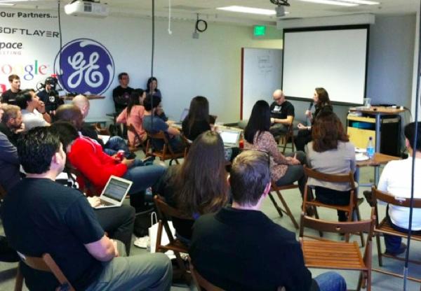 McClure intervjuira gosta u 500 Startups (Snimio Goran Duškić)