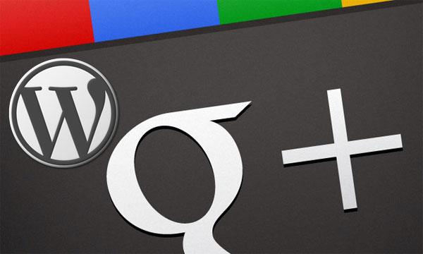 Google-Plus-Wordpress