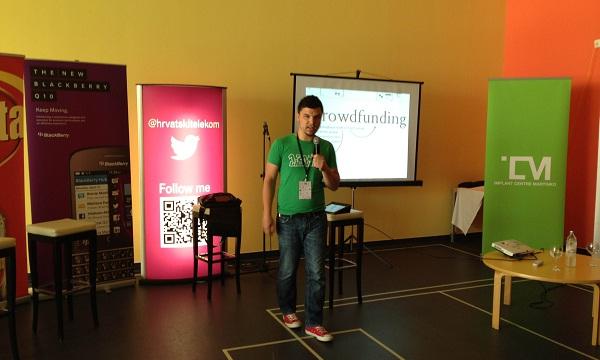 Hrvoje Hafner, autor Doniralice, govori o crowdfundingu na Tvitomaniji