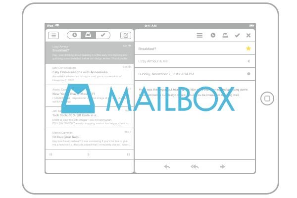 MailBox iPad