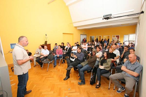 Ivo Špigel otvara ZIP-ov Demo Day (slika: Hrvoje Mihajlic)