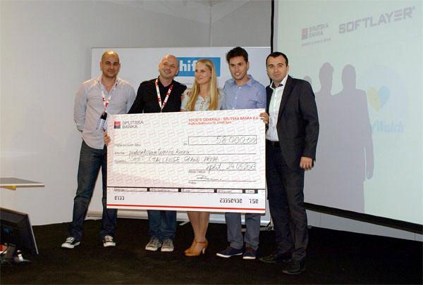 BabyWatch je osvojio prvo mjesto na Shift Challengeu i 10.000 dolara! (fotografija: Janez Klemenčič)