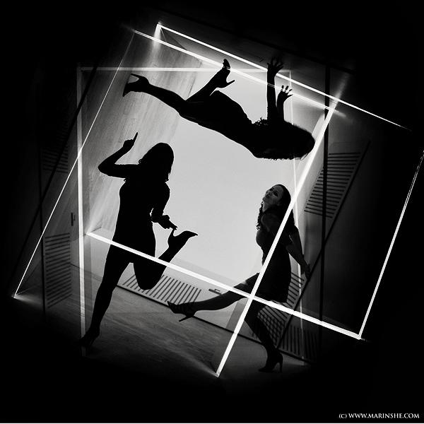 """Ana u konceptualnoj umjetničkoj fotografiji """"Mind Games"""" (Snimila Marinshe)"""