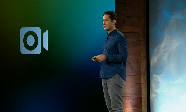 Kevin Systrom predstavlja Instagram video.