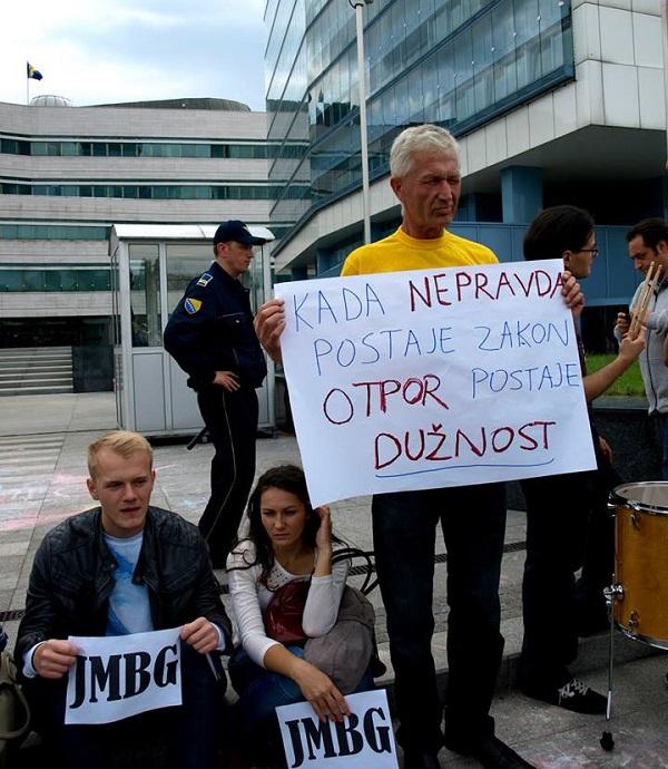 #JMBG je ujedinio (fotografija: Emina Hodžić)