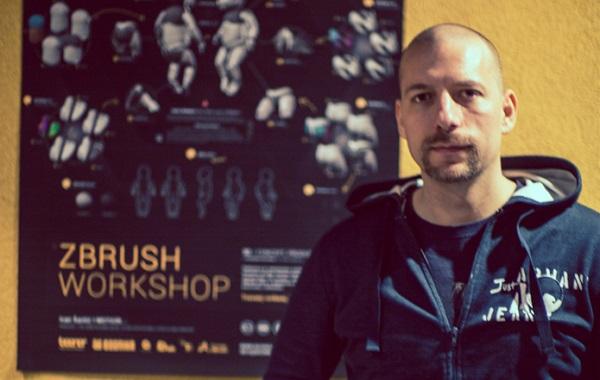 Ivan Šantić, 3D dizajner i animator, voditelj radionice