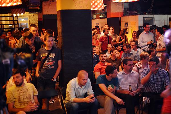 Dvjestotinjak osoba okupilo se u KC Grad kako bi poslušali Johna Biggsa (Fotografija: Marina Filipović Marinshe)