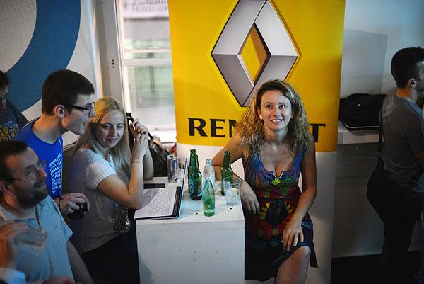 Nataša Đukanović, Domain.me, bila je zadovoljna što se dobar dio predstavljenih startupa odlučio baš za domenu .me. (Fotografija: Marina Filipović Marinshe).