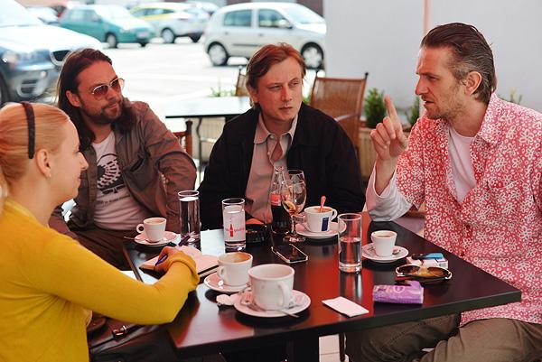 Borna Sor i Vladimir Šagadin otvorili su svoje satirične duše pred nama (Fotografija: Marina Filipović Marinshe)