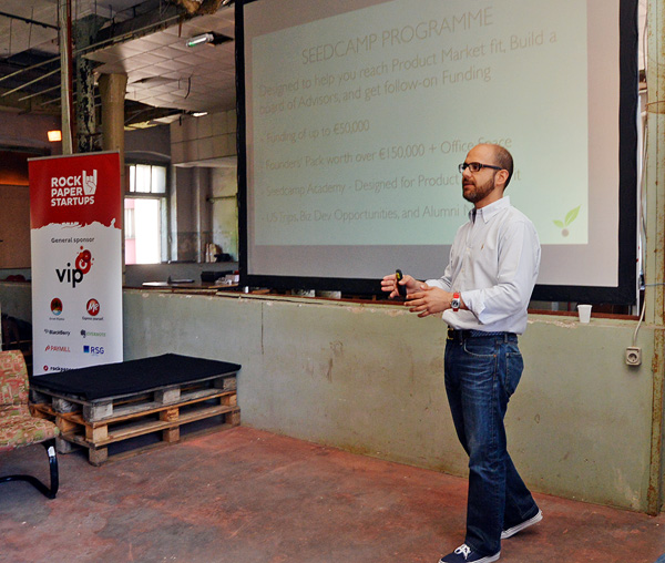 Carlos Eduardo Espinal, partner u Seedcampu (snimila: Marina Filipović Marinshe)