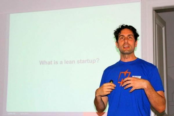 Tristan Kromer održao je predavanje u sklopu Lean Startup meetupa (fotografija: Mario Živić)