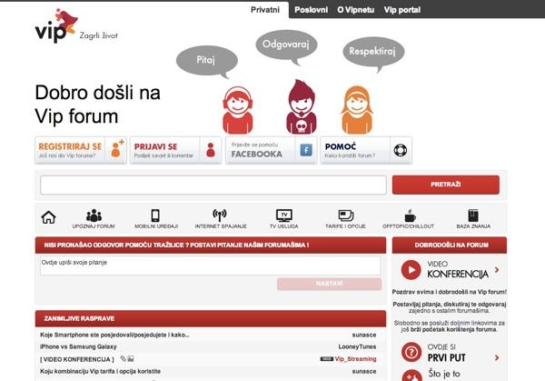 Forum nije zamišljen kao mjesto za zaprimanje pritužbi, nego kao platforma za konstruktivne rasprave.