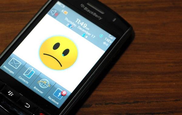 BlackBerry otkaz