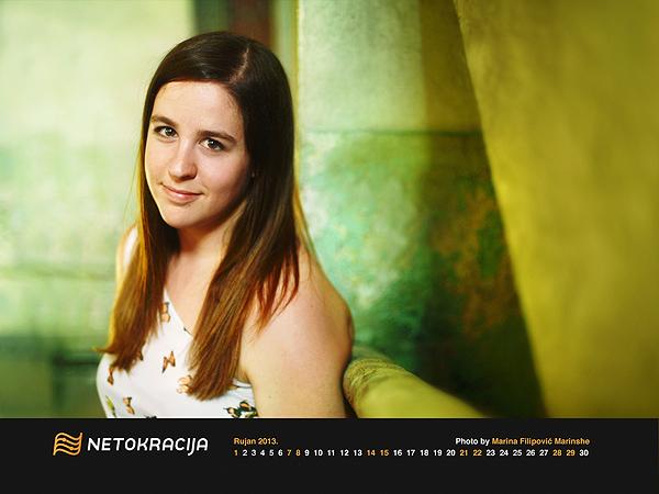 """Elena mi je pozirala u Rijeci gdje je održala predavala kao predavačica Netokracijine konferencije """"Rock Paper Startups"""""""