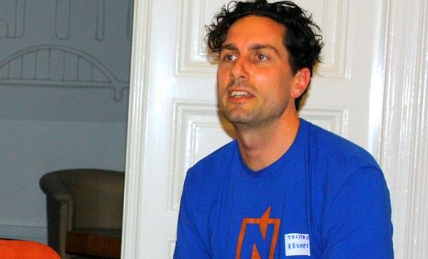 Tristan Kromer, lean startup trener, nedavno je posjetio Hrvatsku (fotografija: Mario Živić)