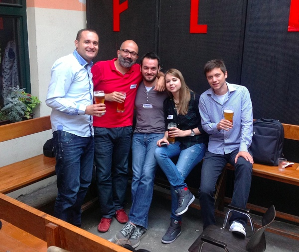 Hrvatska delegacija na BabelCampu.