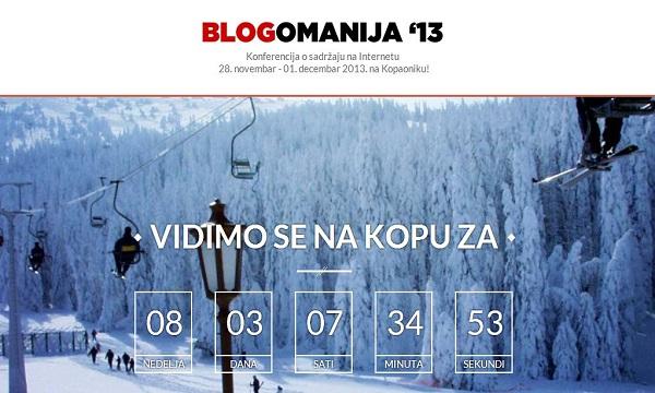Ovogodišnja se Blogomanija seli na snježne padine Kopaonika