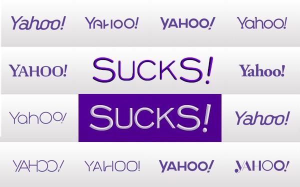 Yahoov logotip nije se svidio još jednom netokratu, Nebojši Radoviću Eniacu. Jasno je to pokazao grafikom koju možete vidjeti u sredini.