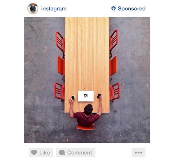 Instagram oglas