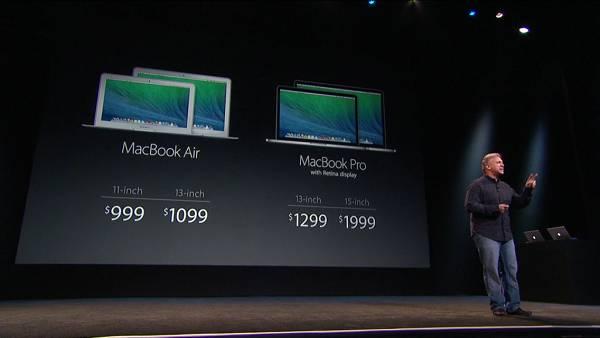 Cijene novih MacBooka.
