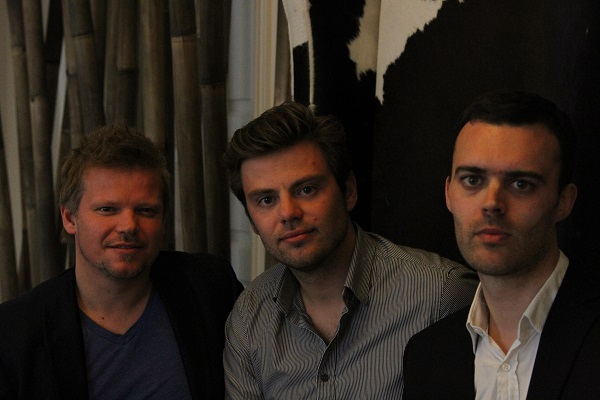 Osnivači Podija: Jon Froda, Kasper Hulthin i Anders Pollas.