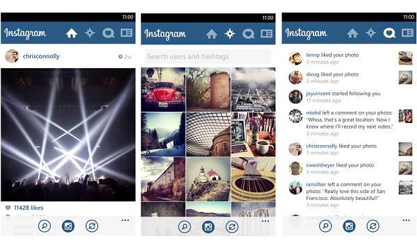 Instagram na WP-u ne prati način rada na koji smo navikli s OS i Android verzijama aplikacije